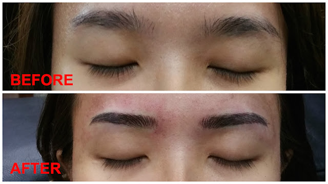 creative eyebrow embroidery review singapore