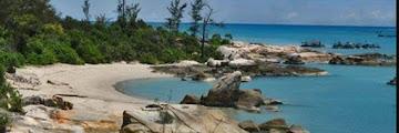 Pantai Tikus: Wisata Pantai Alami yang Sangat Indah dan Menawan Di Pulau Bangka
