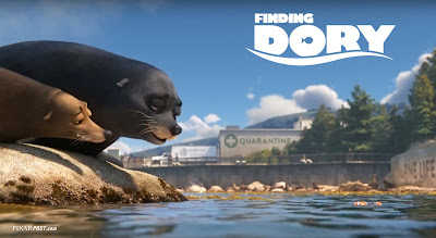 Finding Dory International Trailer Screencap - Fluke and Rudder