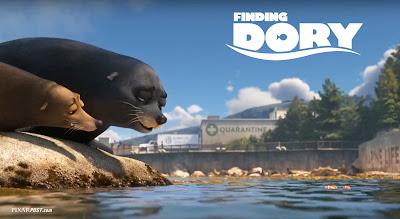 Finding Dory International Trailer Screencap - Fluke and Rudder