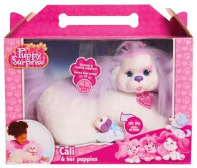 Беременная собачка Кали (Cali Puppy Surprise)