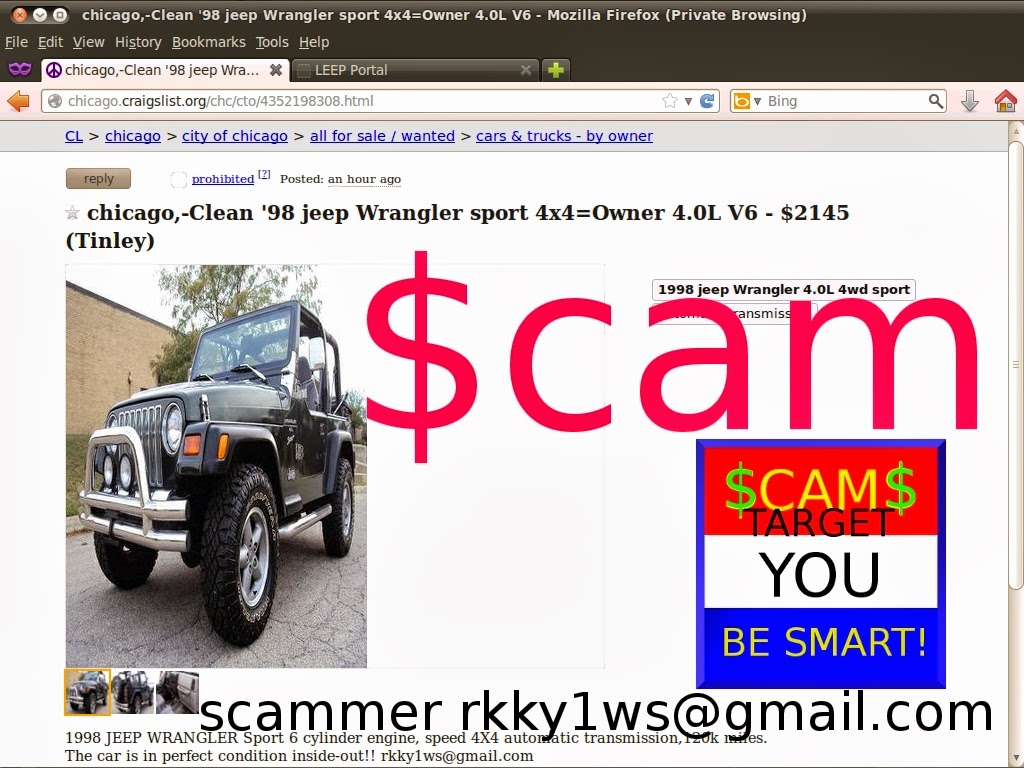 Vehicle Scams Google Wallet Ebay Motors Amazon Payments Ebillme Scama Engine Wiring Harness Shipping Updated 02 26 2714