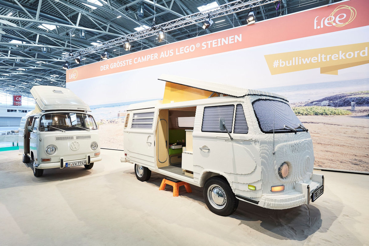 there 39 s now a full sized volkswagen t2 camper van made of lego bricks philippine car news car. Black Bedroom Furniture Sets. Home Design Ideas