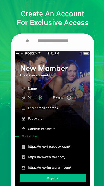 Barscan Nightlife Android app