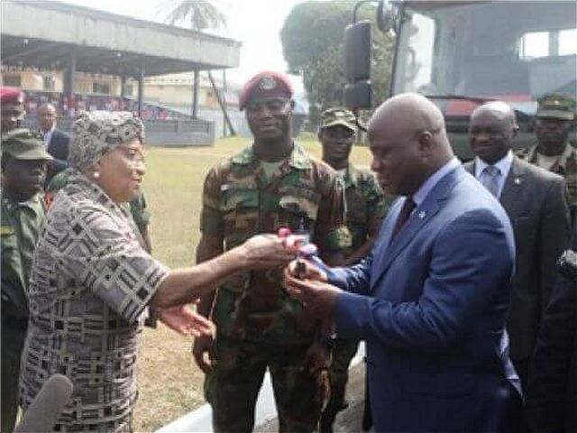 Wow, Cina Sumbangkan $ 3 juta Untuk Peralatan Militer ke Angkatan Bersenjata Liberia