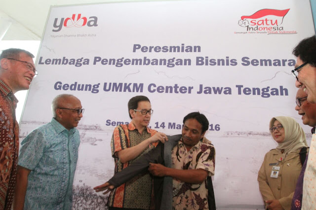 Peresmian Lembaga Pengembangan Bisnis Semarang