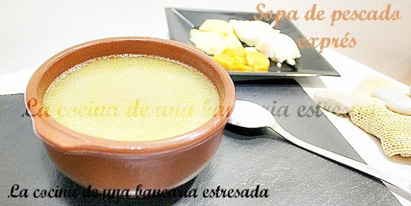 Receta de sopa de pescado paso a paso y con fotografías