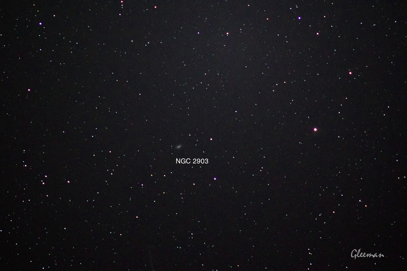 NGC 2903/ Pentax  K5 + Pentax O-GPS1 + DA*200