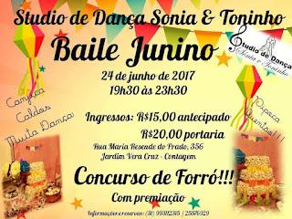 Baile junino da sonia e toninho- festa junina da escola
