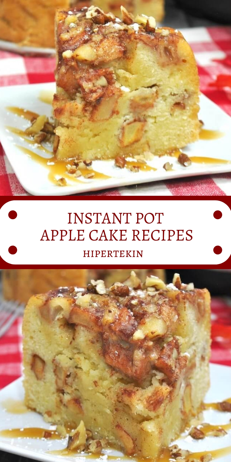 INSTANT POT APPLE CAKE RECIPES