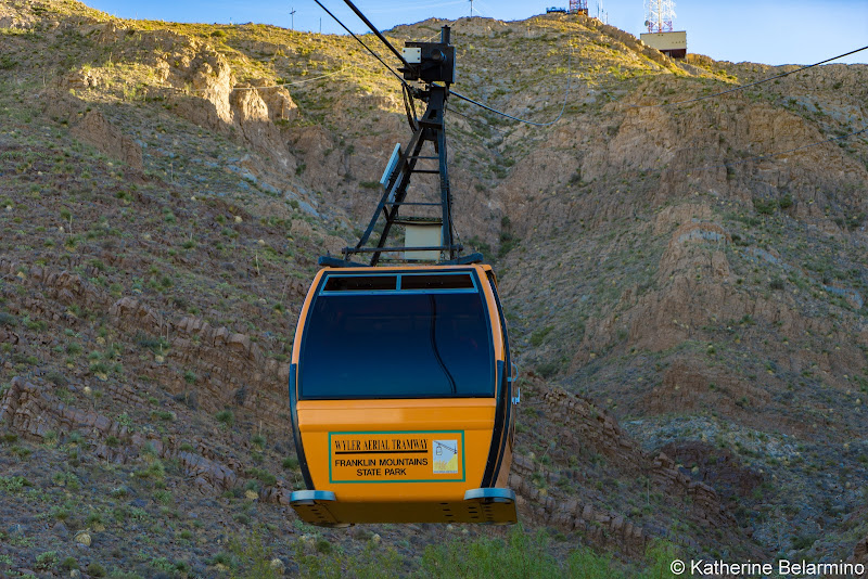 Wyler Aerial Tramway Car El Paso Things to Do Texas Weekend Getaway