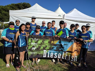san francisco bay area dragon boat team dieselfish offers free lessons