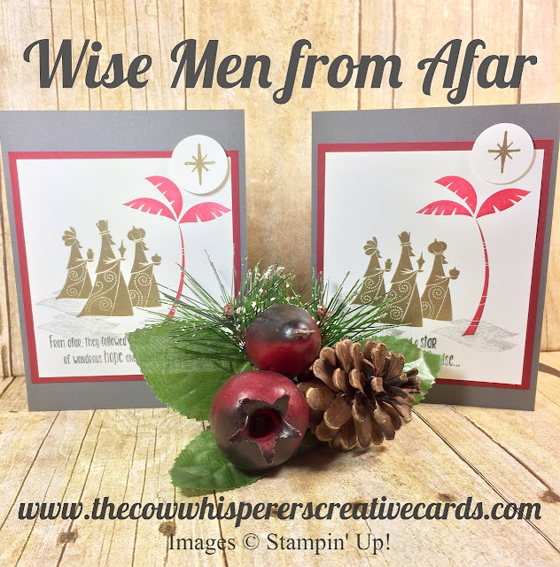 Wise Men from Afar, Christmas, Card, Embossing