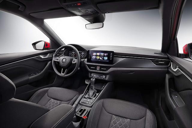 Škoda Kamiq 2020 - interior
