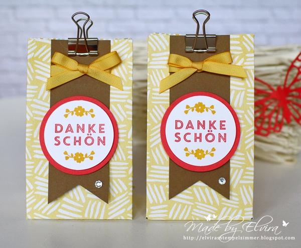 Geschenktüten mit dem Gift Bag Punch Board von Stampin Up!