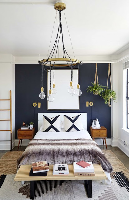 2017 Trend Prediction: Navy Blue Walls /// At Design Fixation