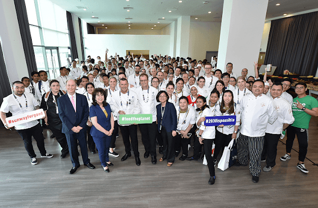 Sunway University Hosts Bill Gallagher Young Chefs Forum Participants