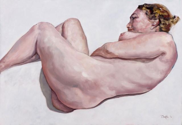 Обнажённая человеческая фигура. Patrick Dalli