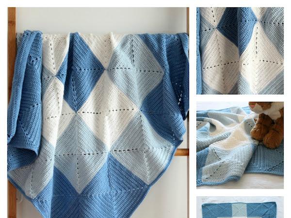 Threadbare Handmade Etsy Store- Baby Blankets