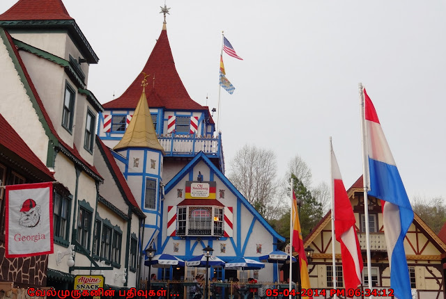 Bavarian Alpine village Helen GA