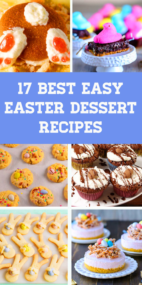 These desserts are way better than whatever the Easter Bunny put in your basket. From carrot cake cheesecake to almond joy cupcakes, we've got plenty of twists to try out, plus the classics you know and love. #easterdessertrecipe #easterdessert #dessert #easter #cake #cheesecake #almond #cupcakes #carrotcake #chocolate #almondjoy #cookies