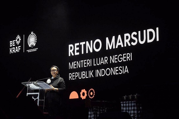 Minister for Foreign Affairs, Retno LP Marsudi