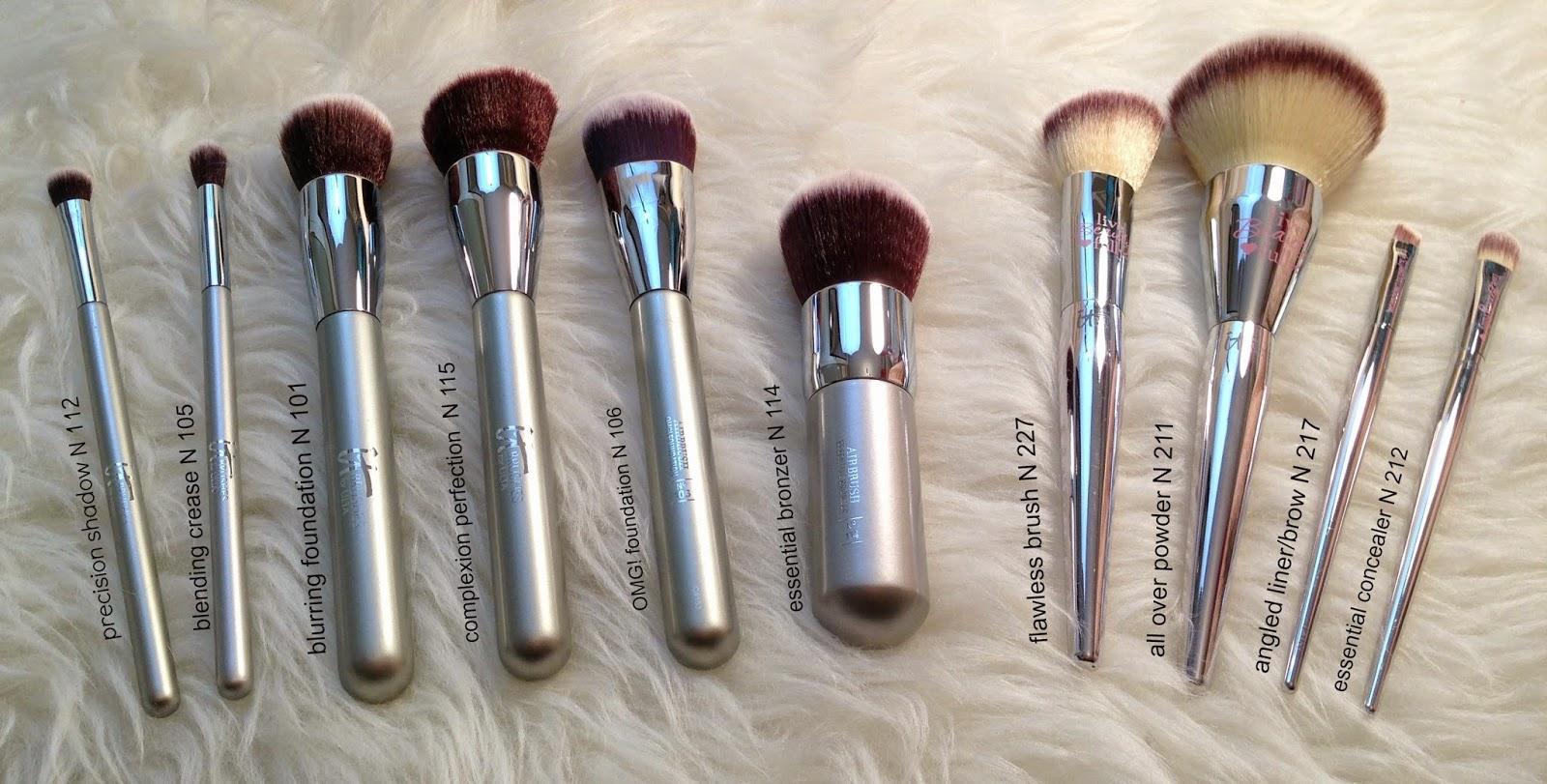 It Cosmetics x ULTA Love Beauty Fully Angled Liner/Brow Brush #217 by IT Cosmetics #22