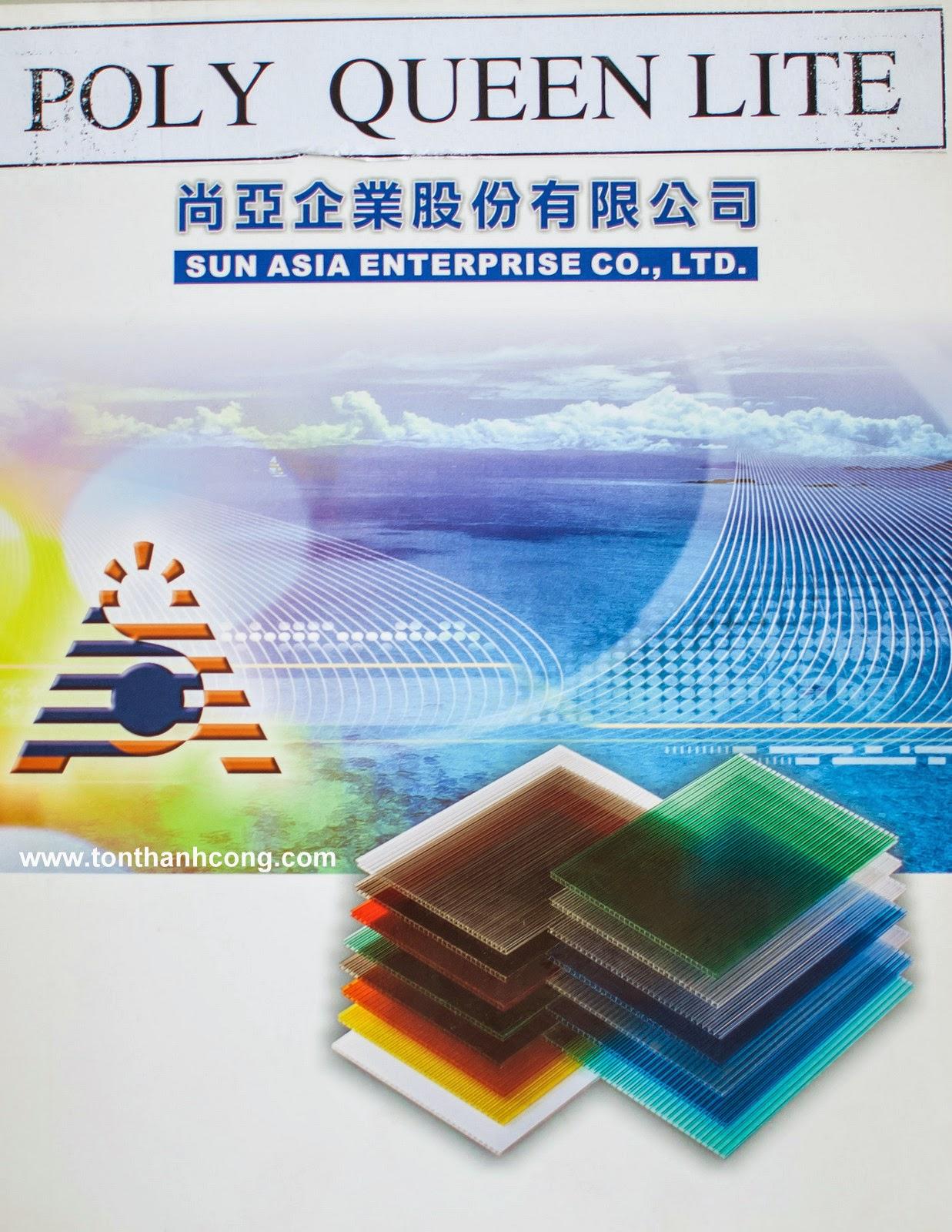 Tấm Lợp Lấy Sáng Polycarbonate Rỗng Ruột QueenLite - Trang 1