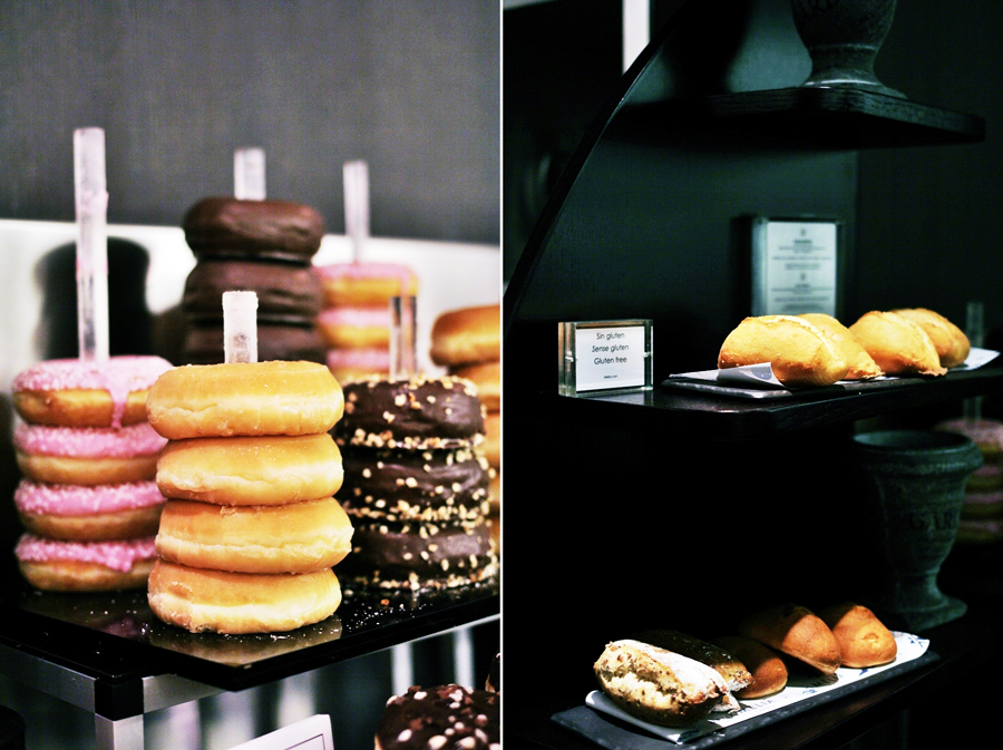 donuts melia breakfast sarria hotel barcelona