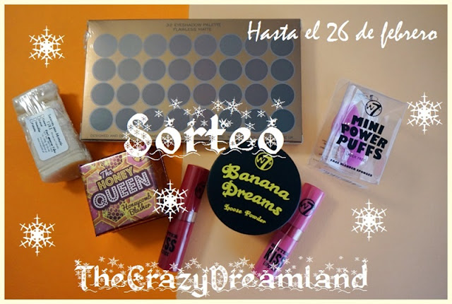 SORTEO THE CRAZY DREAMLAND