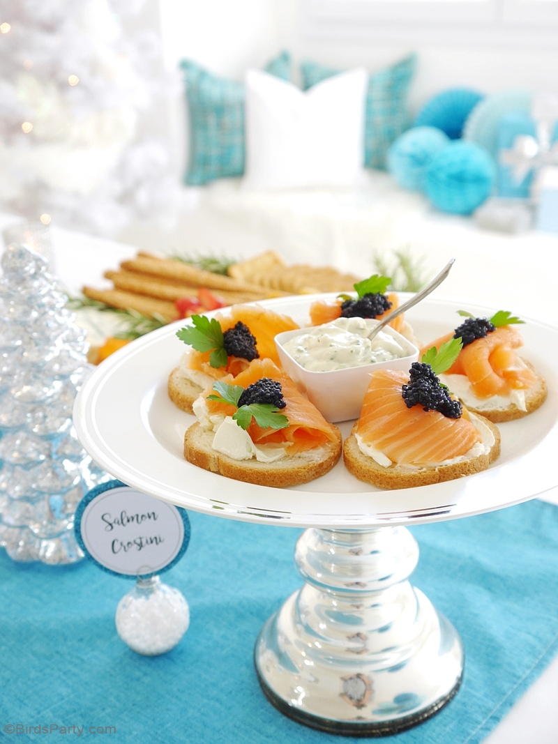 Hosting a Holiday Cocktail & Appetizers Party - Party Ideas | Party Printables Blog