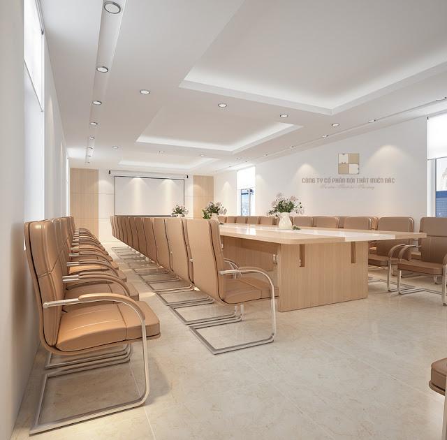Thiết kế nội thất phòng họp đẹp sang trọng, đẳng cấp - H4