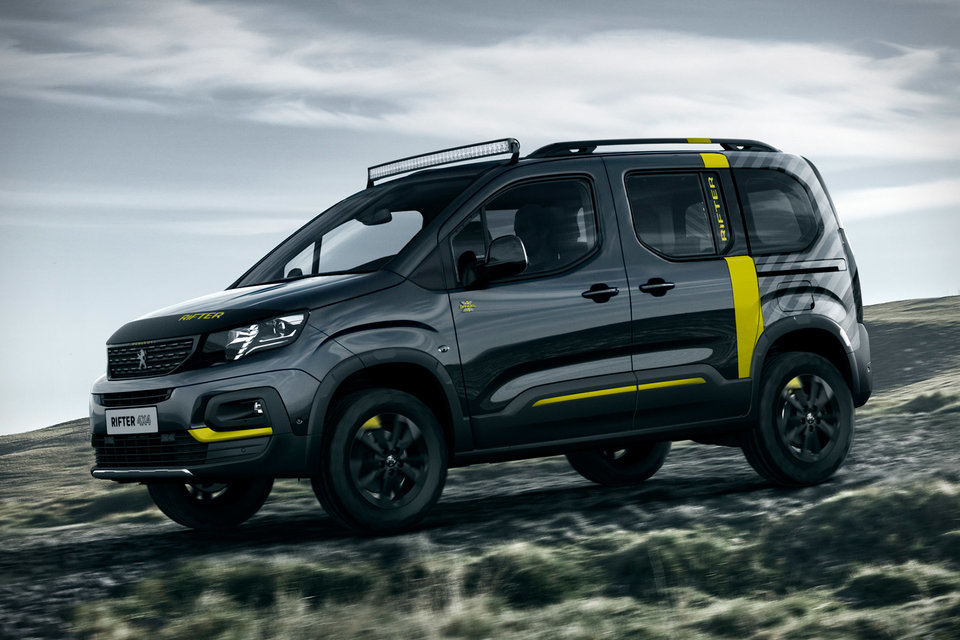 62314a4bdf21 Peugeot Rifter 4×4 Concept looks great for an adventure ...