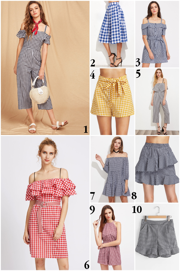 wishlist: gingham