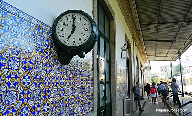Portugal, estação de trens de Peso da Régua, Alto Douro