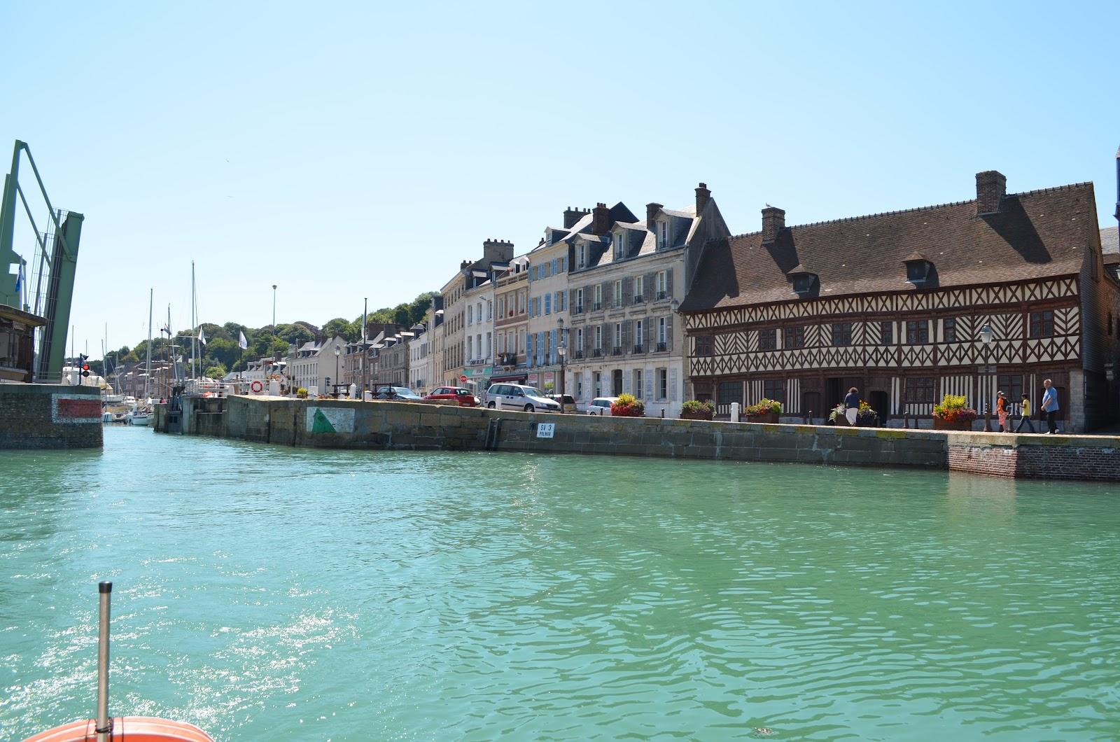 Saint val ry en caux vue de la mer - Saint valery en caux restaurant du port ...