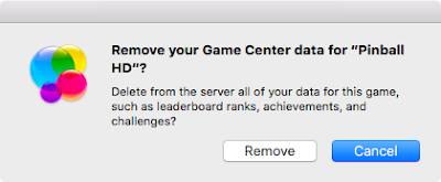 How to remove games from Game Center on Mac