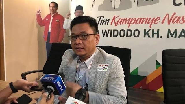 Tim Jokowi soal Materi Debat I: Konsep Prabowo Tong Kosong!