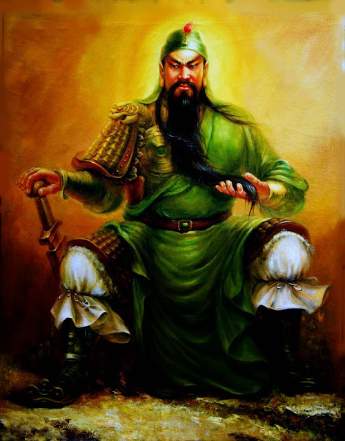 Chapter 27 : The Man Of Beautiful Beard Rides On A Solitary Journey; Guan Yu Slays Six Generals Through Five Passes.