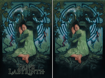 Pan's Labyrinth Movie Poster Screen Prints by Drew Struzan x Bottleneck Gallery