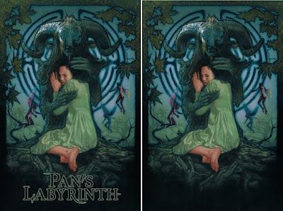 Pan's Labyrinth Movie Poster Screen Prints by Drew Struzan x Bottleneck Gallery