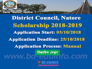 District Council, Natore Scholarship 2018-2019