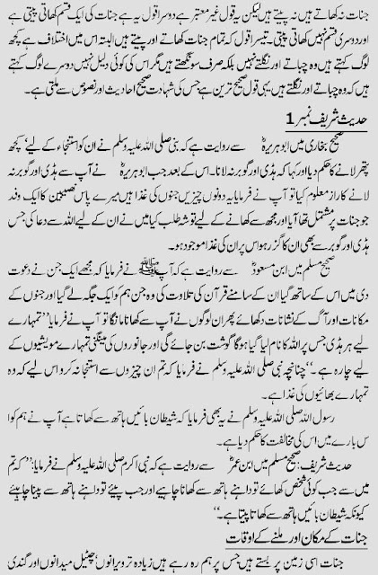 hadith jinn