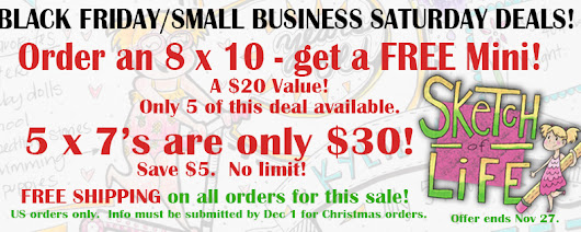 Our very own Black Friday and Small Business Saturday Deal!!