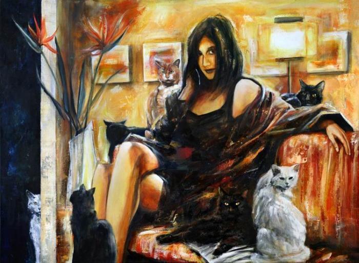 Немецкий художник. Arno Bruse