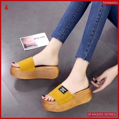 DFAN3205S162 Sepatu Mr 113 Wedges Wanita Cantik Wedges BMGShop