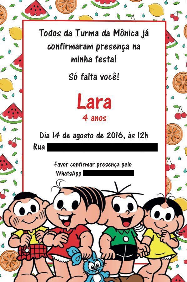 Etiqueta Das Festinhas Infantis Mamãe Sortuda