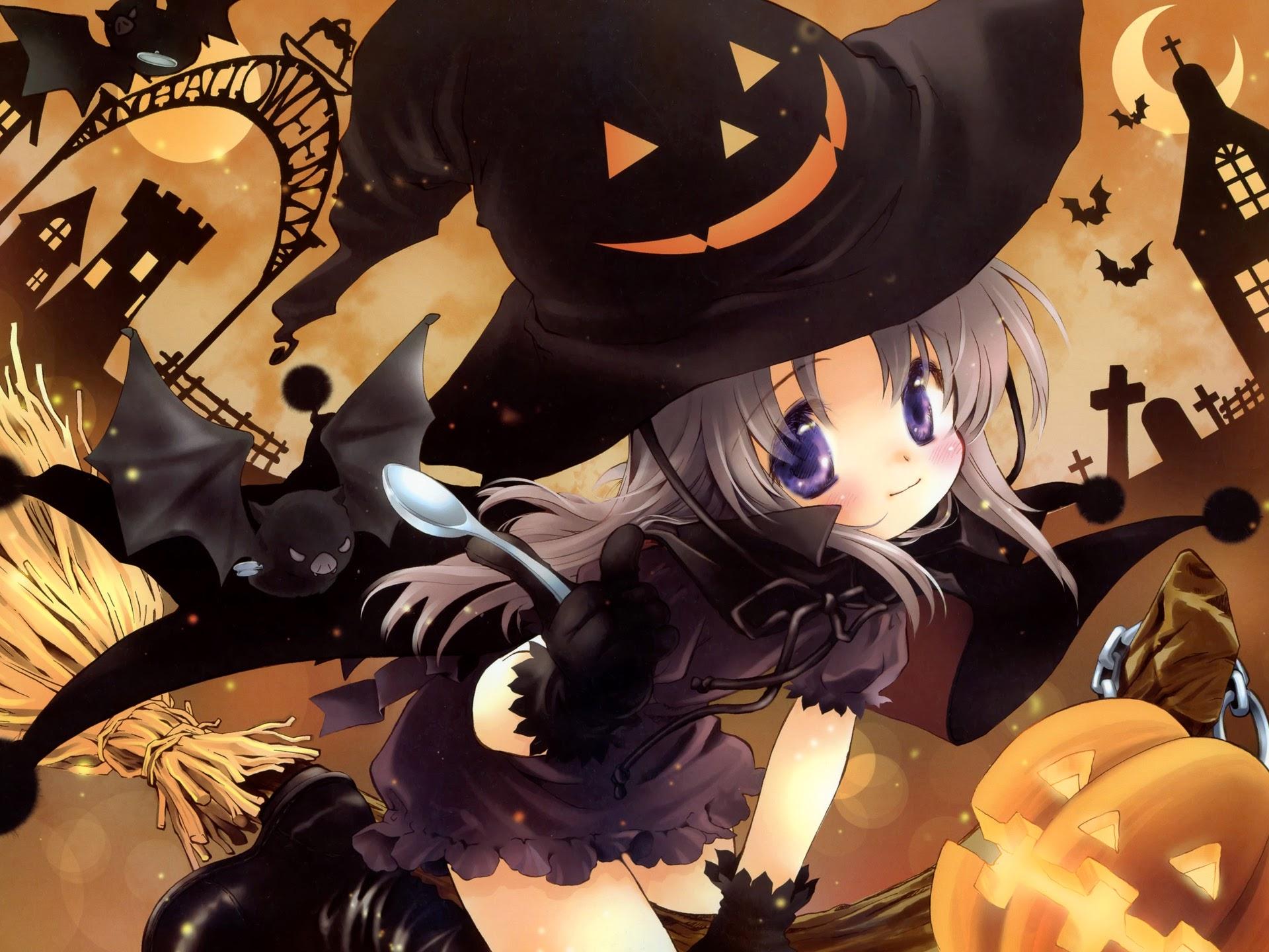 anime halloween girl - photo #12