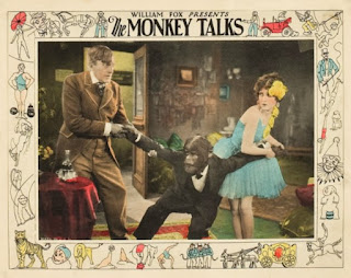 Olive Borden The Monkey Talks