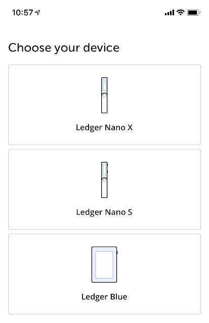 Instalasi Perangkat Ledger Nano X